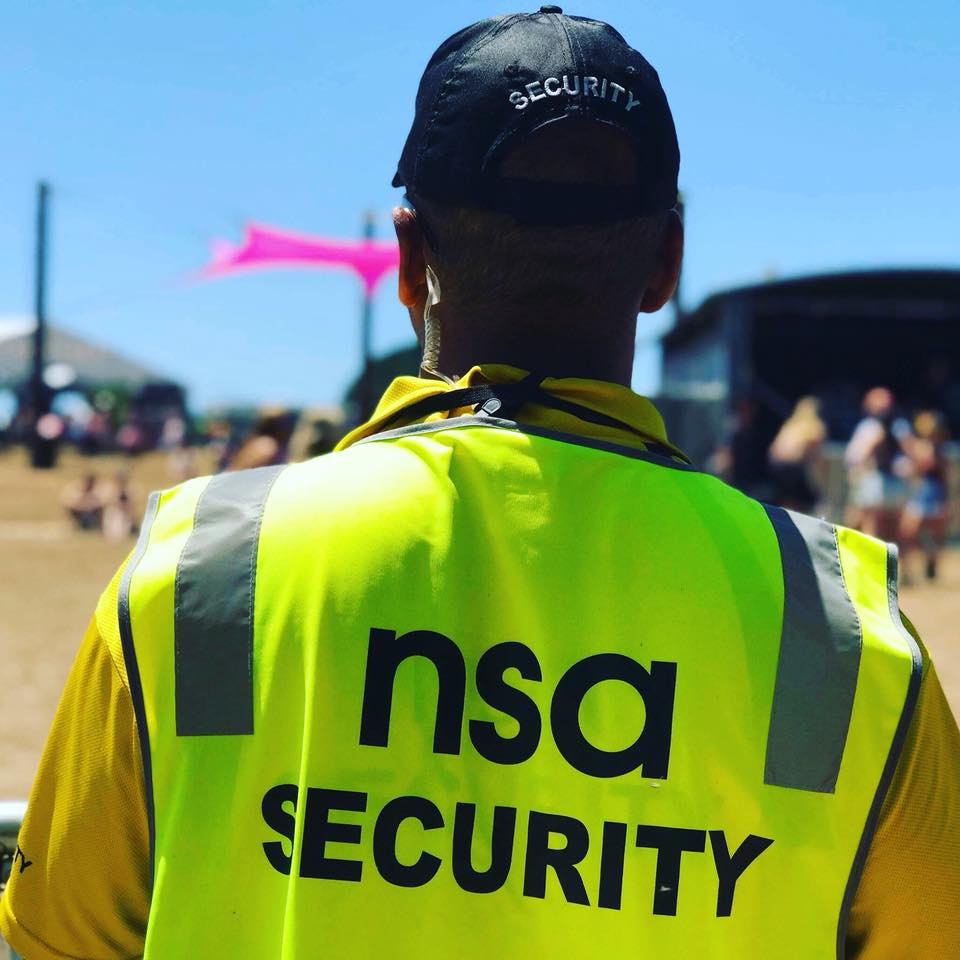 nsa security guards guard